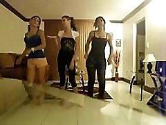 chicas sexys bailando