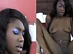 Black shorty mac anal blond in high heels