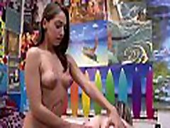 Steamy skajp dinka vagina licking session with delightsome babes