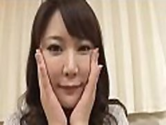 Cute asian receives raucous toying for her cum-hole and anal