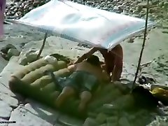 Amateur couple is having xxxx www we com on the beach