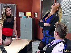 Moms in control: This Is How You Get The Job. Abbey Brooks, Jillian Janson, Van Wylde