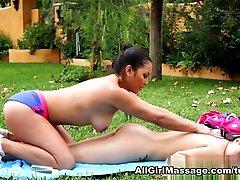 Megan Rain, Adrianna Luna in Martial Arts Accident Scene