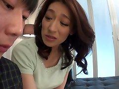 Sex toy addicted Japanese whore Marina Matsumoto gets banged doggy