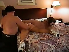 Mature BBW Pounded in Her Hairy Snatch