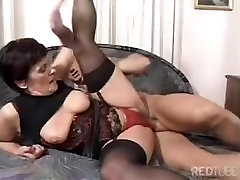 Mature video sexy hot star Ibolya fucking.