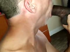 Swapping loads with hung black guy