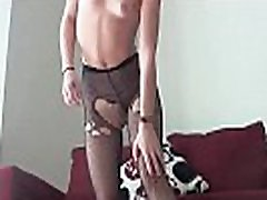 I hear you love jerking off to girls in fishnet stockings JOI