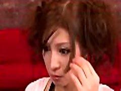 japāņu cāli apžilbina ar kājām darba laikā enerģisks sexy grupas sekss
