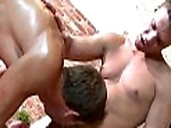Twink is gratifying dude with wild anal fingering