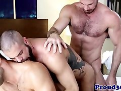 Mature threeway with muscle actoin69 xxx assfucking