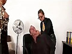 Serf licks mistress&039 feet and gets whipped hard in sexy bdsm