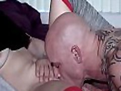 Cousing Jamming His Cock Down Lacey Channing Pussy And Throat