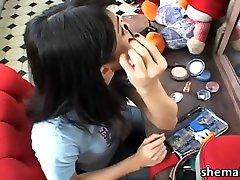 kaam sutra vedio tamil aunty handjob boy model Sandy Lopez in erotic hand job and cum feast