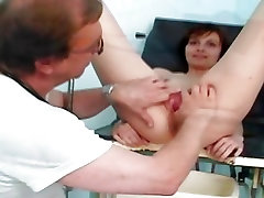 Terri gyno speculum explicit kinky gyno exam by old doc