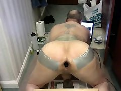 Man Pussie Toy eggplant Gape Poppers