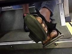 Sexy ebony toes pt. 2