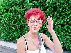 DEUTSCHLAND REPORT - German mature redhead sucks big dick