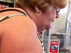 BBW Granny toilet voyeur sex Nice Ass Cheeks