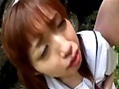 japanese cute girl force deep thorat to vomit extremely