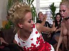 Blonde made lick and fuck in public