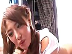 Pal licks, fingers and fucks hairy love tunnel of girlie from asia