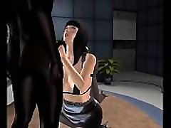 Hotwife Gina Interracial Adventures. My wife Gina fucked by young black man in front of me live on a TV studio. 3d avatar animation