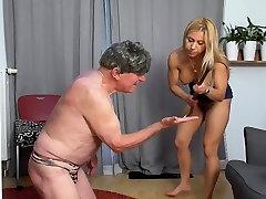New Updates Sadistic Princess Nicole dominate slaves!