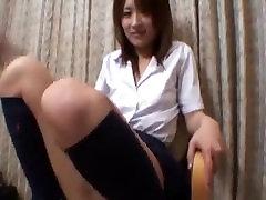 chica japonesa contracción del orgasmo