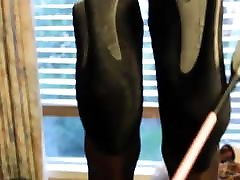 Bad gurl sissy spanking
