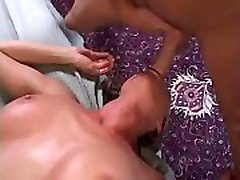 Cute blonde boys trampling in the gym with really great tits Saskia 69s on the hotel bed with lucky guy