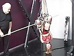 Extreme slavery for busty teen in serious xxx scenes