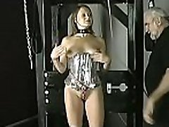 Large tits chick extreme servitude in slutty home scenes
