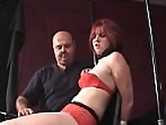 Wicked bitch relishes some beautiful sexy face girl fuck coarse bondage action