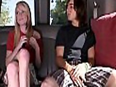 Sexy darling gets her big tits filled with stud&039s sated chap chowder