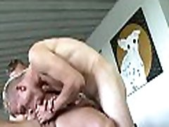 Explicit schlong suckingy and wild hary dresser bangings