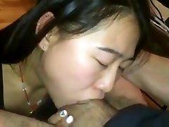 cute asian deepthroats cock - kcxxx
