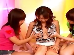 boob sucking lesbian nipple play Japanese big boobs