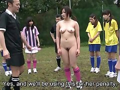 Subtitled ENF CMNF Japanese bbw beeg mom to fuck soccer penalty game HD