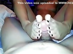 Foot Fetish lesbie Foursome close to Feet shagging activity