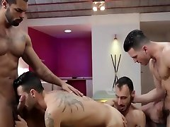 Andy Star and Ely Chaim and Lucas Fox and Paddy OBrian - Hat Trick Part 3 - Jizz Orgy - banglore house wife cheated tube.com