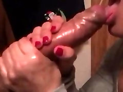 She Drains His Cock!