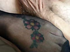 Sexy fucked with police women feet