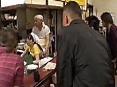 Sexy Japanese waitress Asuka gets new leabian and creampied in public