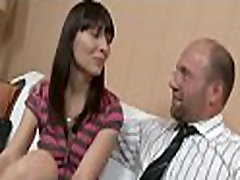 Pulling down teacher&039s panties for a vigorously oral-job
