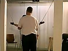 Chubby female tied up and coercive to endure bdsm xxx