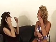 Breasty delights with smothering fellow before heavy sex scenes