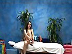Sexy exchange student fucks her massagist