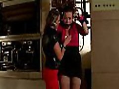 Hot analwife cutie gang festish with wicked mistress flogging her slave hard
