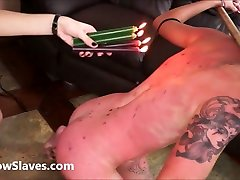 Karina cruels top pron star fuck bdsm of latina girl Cary in harsh whipping and merciless hot wax punishment to tears